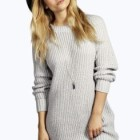 Robe pull hiver