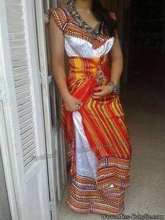 Nouveau modele robe kabyle 2017