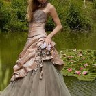 Robe mariage couleur