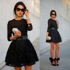 Robe femme patineuse