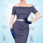 Robe style année 50 pin up