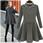 Robe hiver manches longues